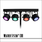 Weather System COB 4 Fixture LED Bar
